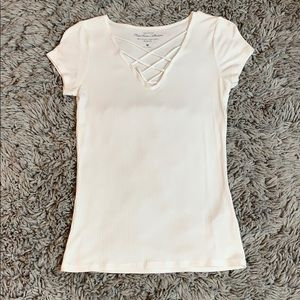 Hollister Cages Short Sleeve Top